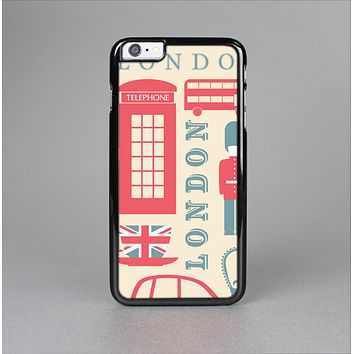 The Vector London Time Red Skin-Sert for the Apple iPhone 6 Skin-Sert Case