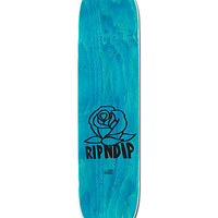 "RipNDip Rose 8.0"" Skateboard Deck"