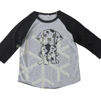 Great Dane shirt toddler funny puppy shirt- 3/4 sleeve tshirt -Child shirt -Raglan shirt- Baseball tshirt -Kids tshirts