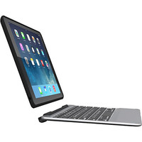 ZAGG Slim Book Keyboard/Cover Case for iPad mini 2, iPad mini 3 - Black Item # 140156