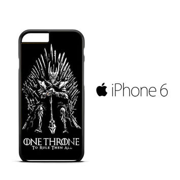 Hbo game of thrones wallpaper X0805 iPhone 6 Case