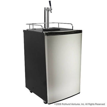 EdgeStar Ultra Low Temp Full Size Kegerator with Stainless Steel Door