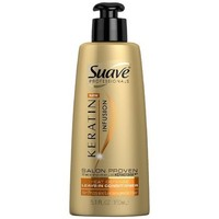 Amazon.com: Suave Professionals Keratin Infusion Heat Defense Leave-In Conditioner, 5.1 Ounce (Pack of 3): Beauty