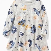 French-Terry Sweatshirt Dress for Toddler Girls |old-navy