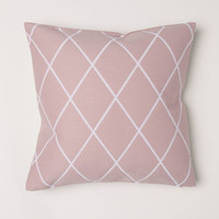 Jacquard-weave cushion cover - Dusky pink - Home All | H&M US