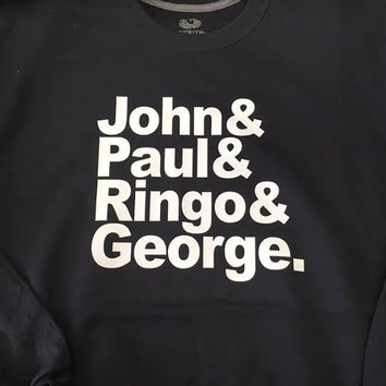 John & Paul and Ringo and George Beatles Shirt