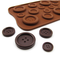 Silicone Chocolate Button Molds