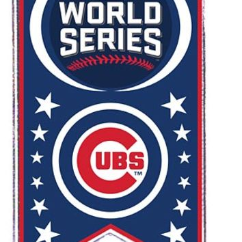 Chicago Cubs 2016 World Series Banner Souvenir Pin