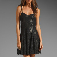 Lucca Couture Lace Metallic Dress in Metal/Black from REVOLVEclothing.com