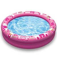 Aqua Leisure Hello Kitty 2 Ring Pool at SwimOutlet.com