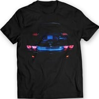 Dodge Challenger R/T The Devil T-shirt 100% Cotton Holiday Gift Birthday