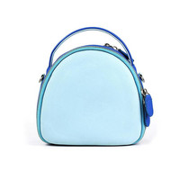 Fujifilm Instax Mini Camera Case Shoulder Bag Blue with Protective Layer Inside