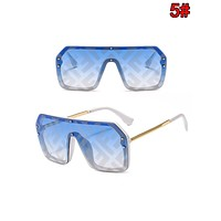 FENDI Fashion Women Men Personality Shades Eyeglasses Glasses Sunglasses 5#