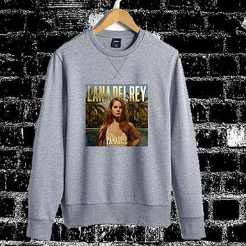 Lana Del Rey Paradise Sweatshirt Crewneck Men or Women