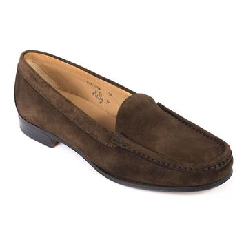Church's Dark Brown Suede Nelly Loafers