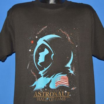80s United States Astronaut Hall of Fame t-shirt Large