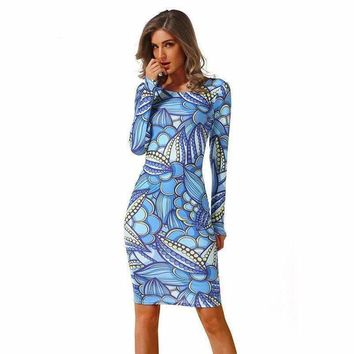 Sweet Treats Midi Abstract Dress