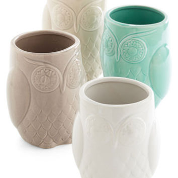Owls Owl Have Another Glass Set by ModCloth