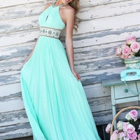 2015 new summer Bohemian long dresses party style blue sky maxi sexy womens Hollow Out dress printed dress plus size flower = 1928645636