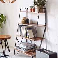 Max Wood Bookshelf- Brown One