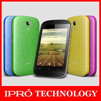 Original Ipro MTK6571 Dual Core 1.0G Mobile Phone GSM Dual Sim Dual Camera Featurephone 3.5 Inch LCD Screen Android4.4 TF Card