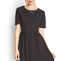 Modern Muse Polka Dot Dress
