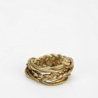 Cold Picnic Rope Ring - Urban Outfitters