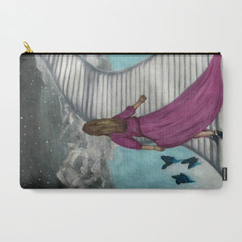 Carry-All Pouches, heaven Carry-All Pouches, Stairs Carry-All Pouches, Stairs heaven pouch, colorful organizer, iPad pouch, makeup pouch,art