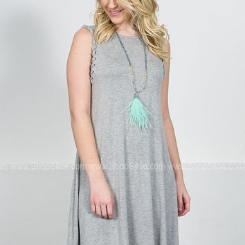 Becca Grey Rope Dress