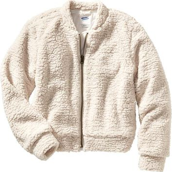 Old Navy Sherpa Bomber Jacket