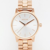 Nixon Small Rose Gold Time Teller Watch