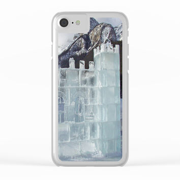 House of ice Clear iPhone Case by abeerhassan