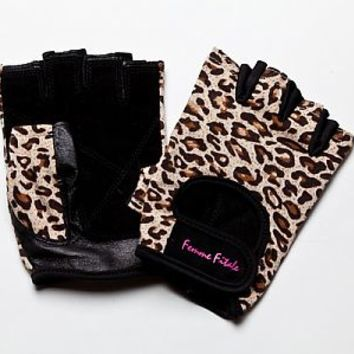animal print womens fitness gloves, womens weight lifting gloves, womens workout gloves