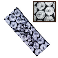 Mummy Eyeball Fabric Head Wrap Scarf