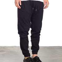 Wing Man Knit Jogger - Black