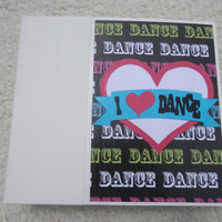 6x6 Dance Scrapbook Photo Album