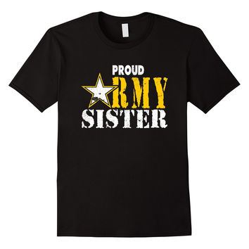 Army Sister Proud Army Sister Shirt