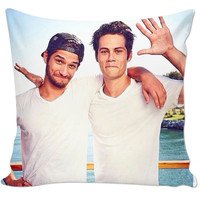 Tyler Posey And Dylan O'Brien Pillow