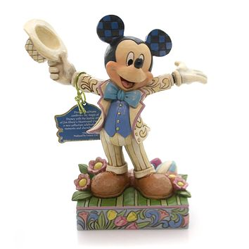 Jim Shore HATS OFF TO SPRING! Polyresin Mickey Mouse Easter 4059742