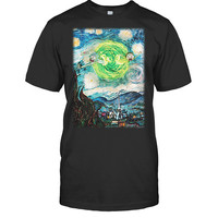 Rick And Morty - Van gogh 2 - Men Short Sleeve T Shirt - SSID2016