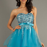 Sequined Party Dress by Alyce Paris 3549