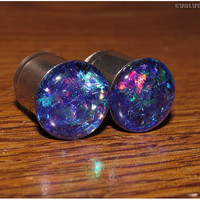 Purple Plum Shard Plugs
