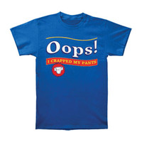 Saturday Night Live Men's  Ooops T-shirt Blue Rockabilia