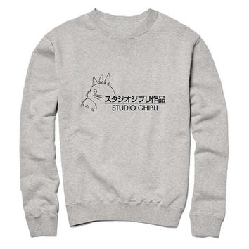 studio ghibli Sweatshirt Crewneck Men or Women for Unisex Size
