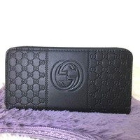 DCCKJG8 Gucci Women Leather Fashion Wallet Purse