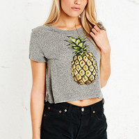 Truly Madly Deeply Pineapple Crop Top - Urban Outfitters