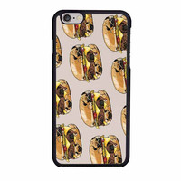 pugs burger case for iphone 6 6s