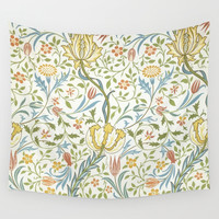 William Morris Flora Wall Tapestry by Art Gallery