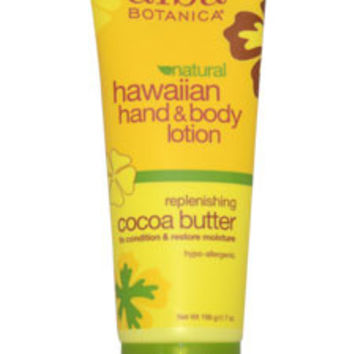 Hawaiian Cocoa Butter Hand & Body Lotion Lotion Alba Botanica