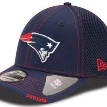 ONETOW NFL New England Patriots Blue Neo Team Hat